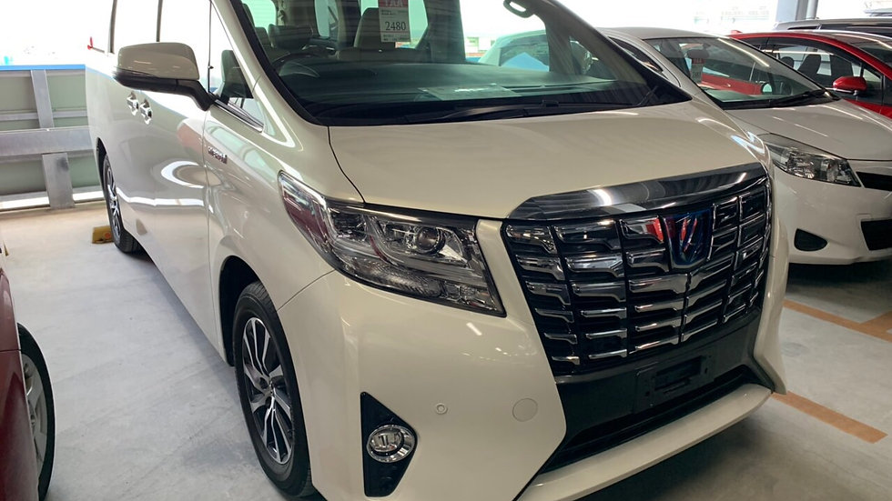 2016 Toyota Alphard GF Hybrid Auto