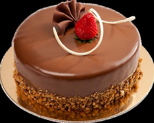 CHOCOLATE PECAN CAKE -  كعكة الشوكولاتة بالمكسرات