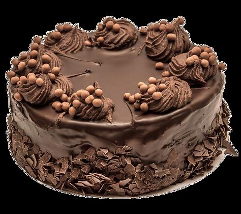DARK CHOCOLATE BROWNIE CAKE - كعكة براونى بالشوكولاتة