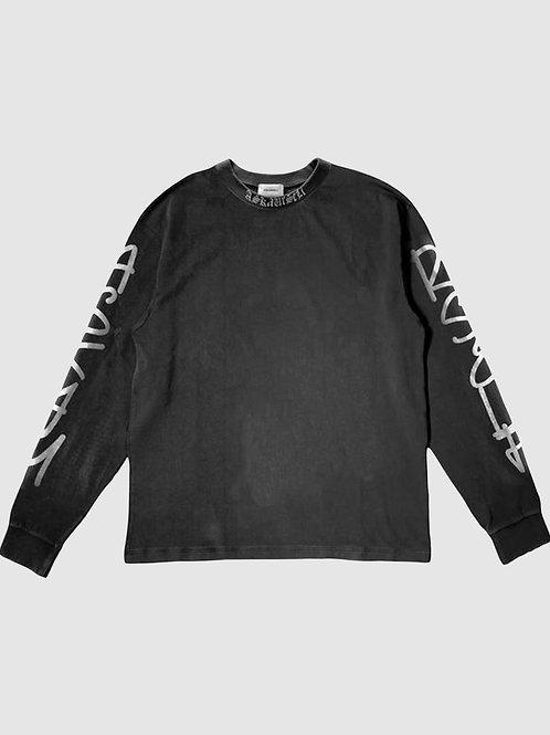 Askyurself Scribt Long Sleeve T-Shirt