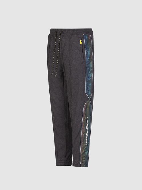 Randomevent Contrast Side Reflective Stripe Track Pants