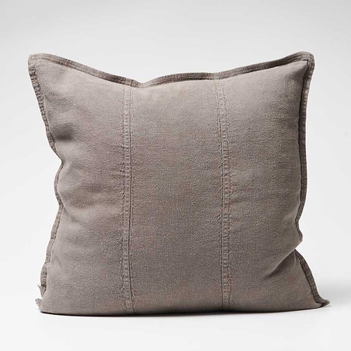 Luca Linen cushion in Coal