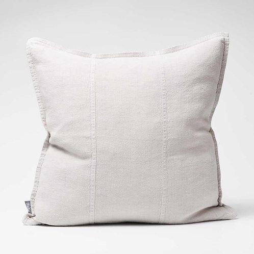Luca Linen cushion in Silver Grey