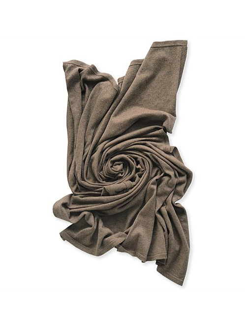 Jersey Knit Swaddle Cocoa Marle