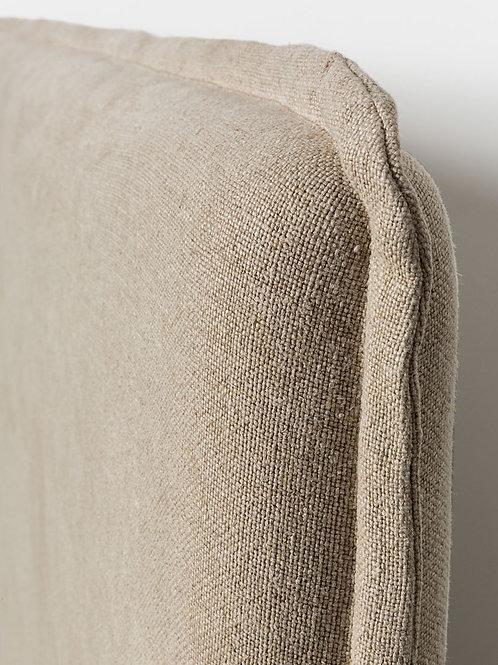 Marcus headboard - natural linen