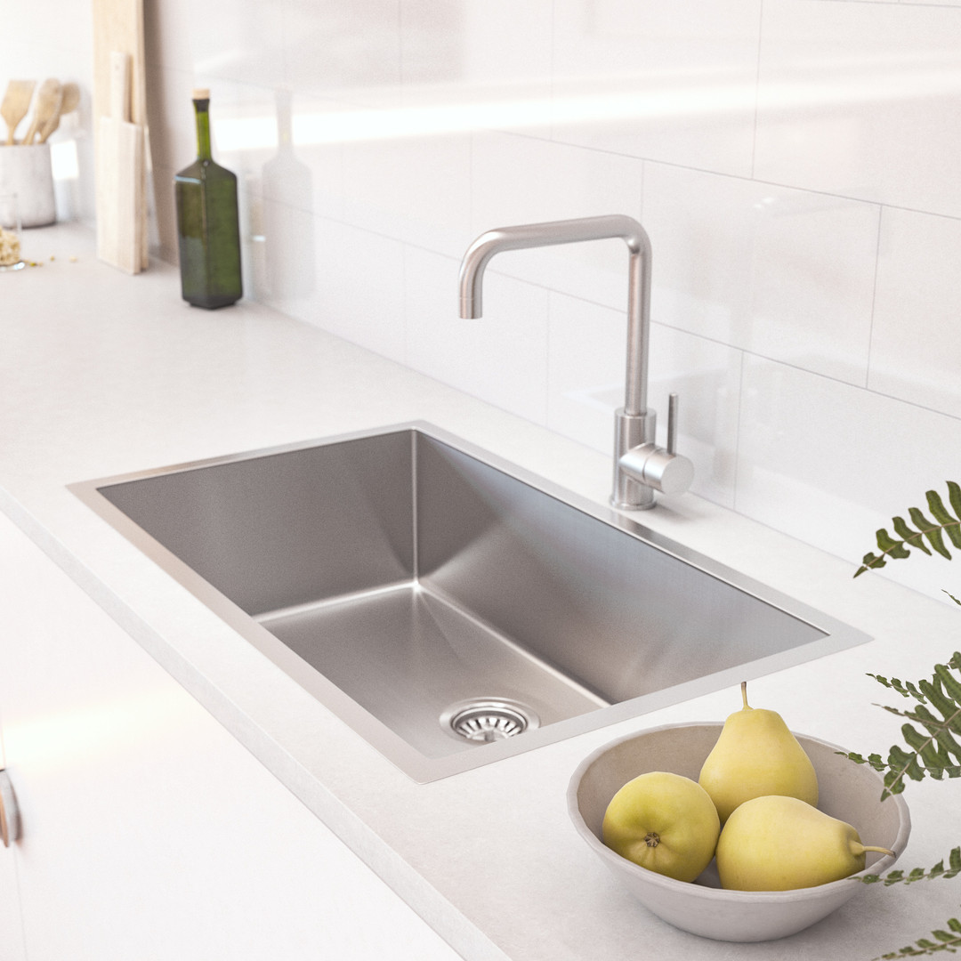 Vari Single Sink 700mm -Insetting-Stainl