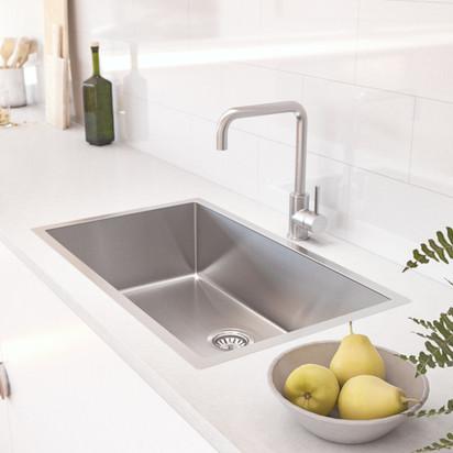 Vari Single Sink 700mm -Insetting-Stainl