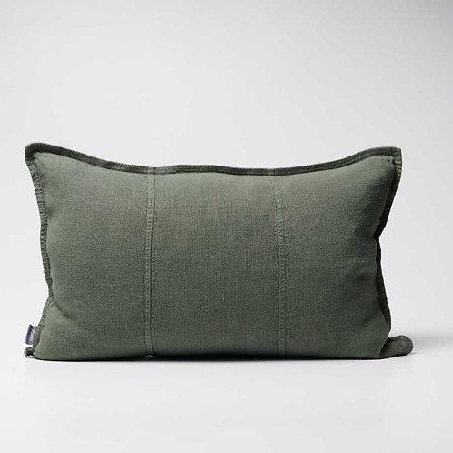 Luca Linen cushion in Khaki