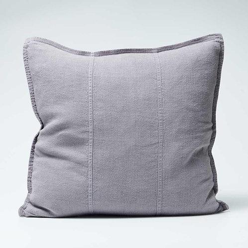 Luca Linen cushion in Slate