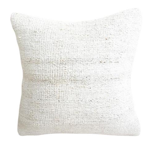 vintage kilim cushion natural