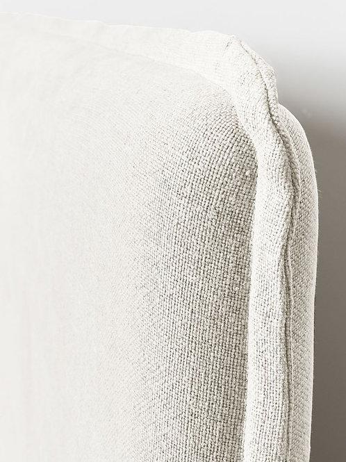 Marcus headboard- white cotton