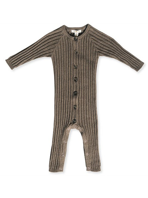 Wide rib jumpsuit - Cocoa Marle