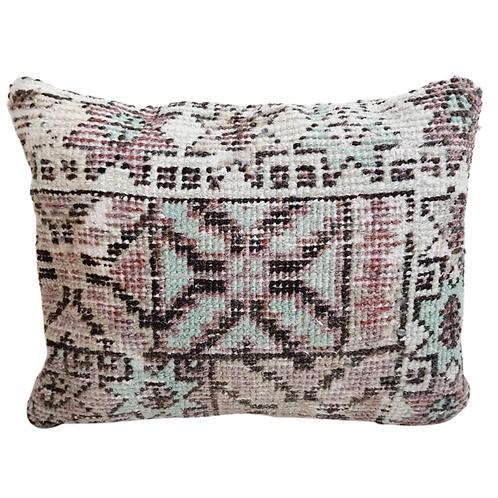 vintage kilim cushion festive