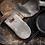 Thumbnail: Psyrri Linen Oven Glove, Olive Green