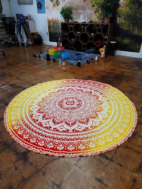 Tapestry Round Tablecloth