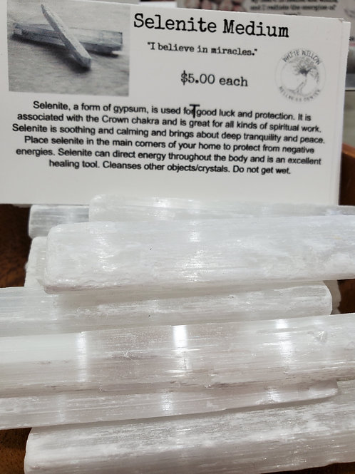 Selenite Medium