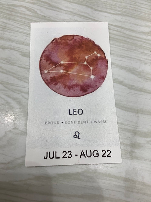 Leo Crystal Bracelet