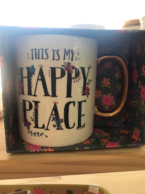 Natural Life This Is My happy place Mug