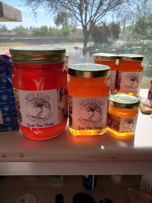 Local Raw Honey 2.5 oz