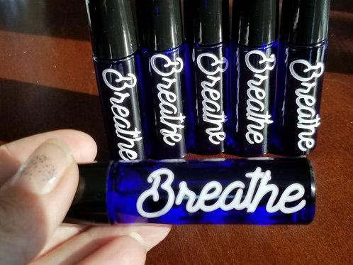 Breathe oil roller bottle