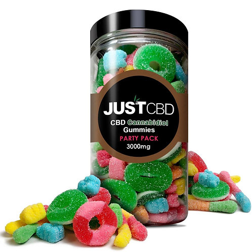 Just Gummies Party Pack 32oz 3000mg