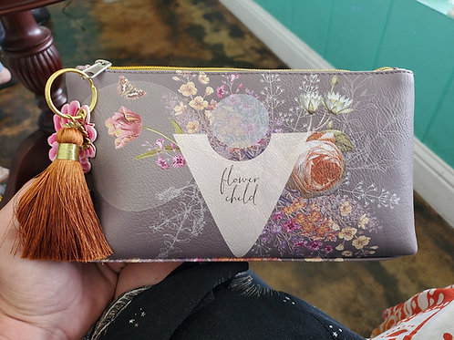 Papaya art Makeup Bag Flower Child