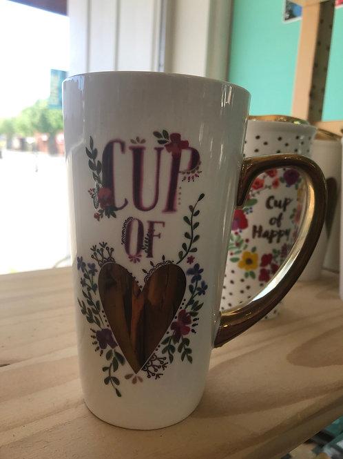 Natural Life Cup of Heart mug