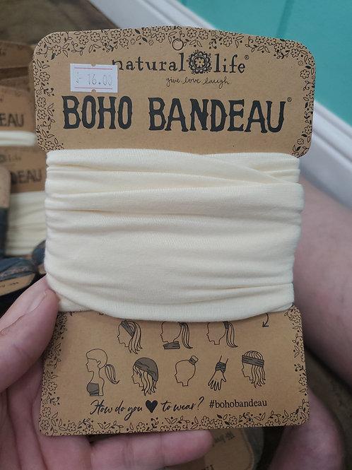 Natural Life Boho Bandeau Cream
