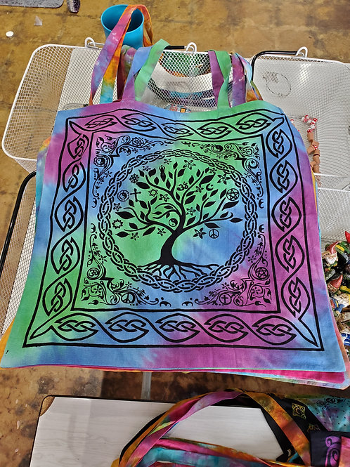 Tree of life Tapestry tote Bag