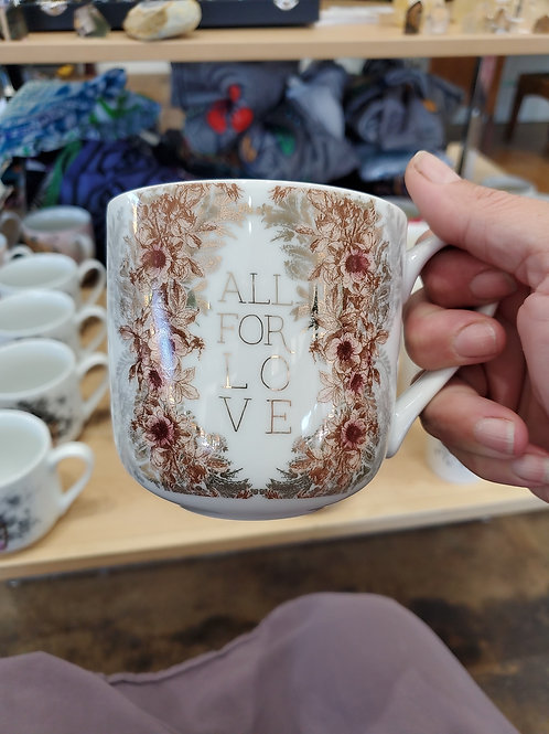 Papaya Art Mug All for love