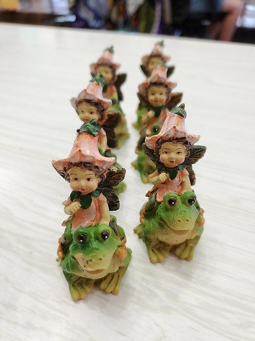 Fairies on Frogs