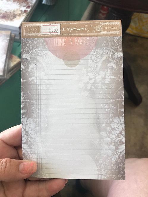 Papaya Art think in magic lil notepad