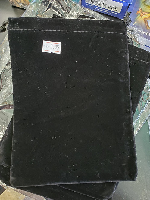 Black Velvet Card Bag