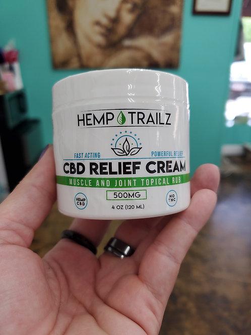 Trailz Relief Cream 500mg