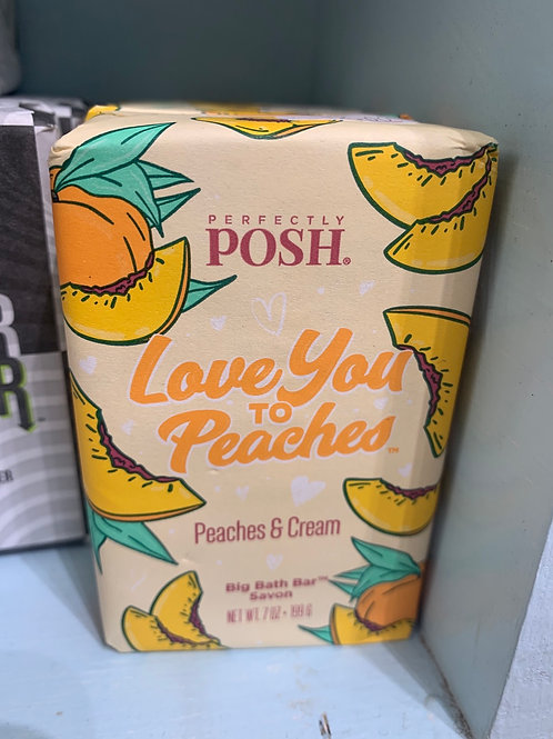 Love You to Peaches Soap Bar