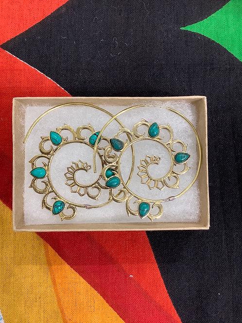Turquoise Festival Earrings