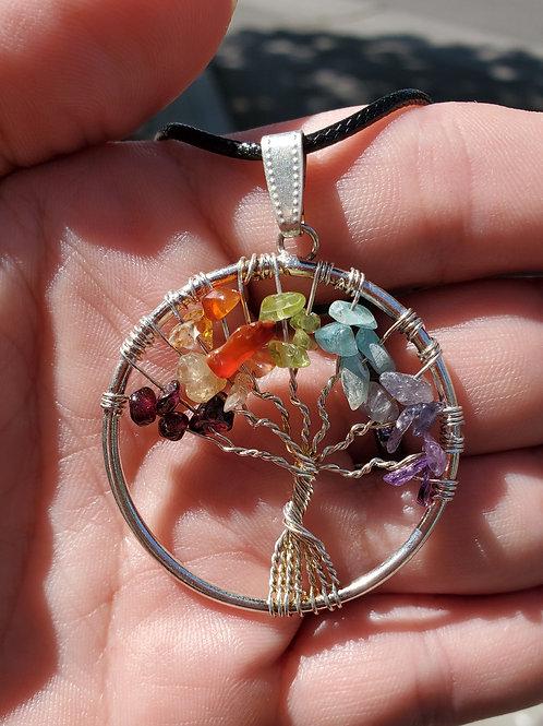 Charka Tree of life pendant