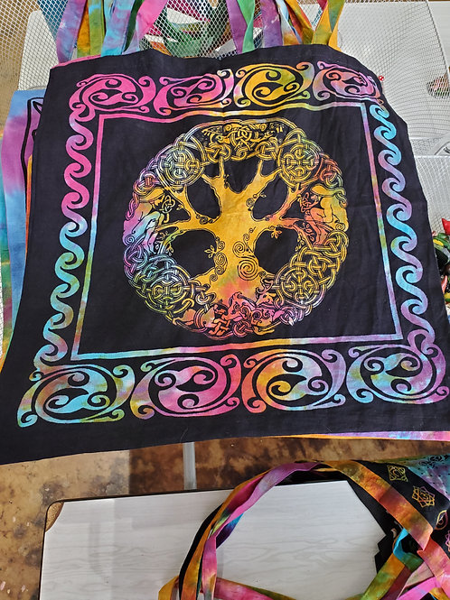 Tree Tapestry Tote Bag