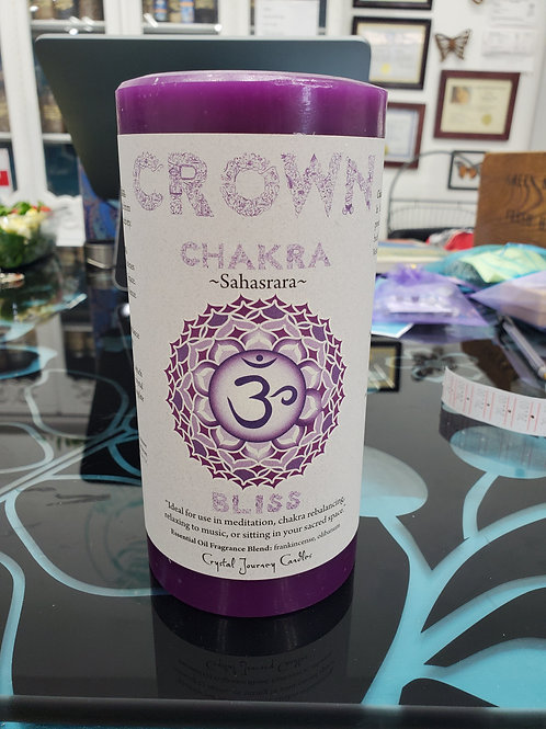 Crystal Journey Candle Crown