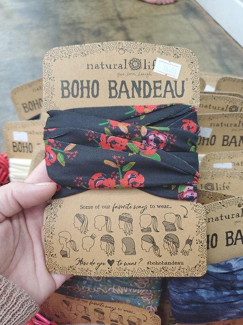 Natural Life Boho Bandeau flowers