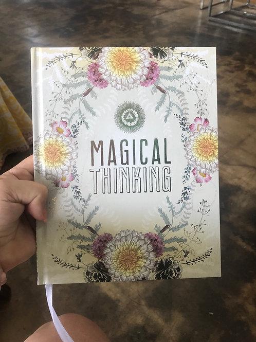 Papaya Art magical thinking hardback notebook