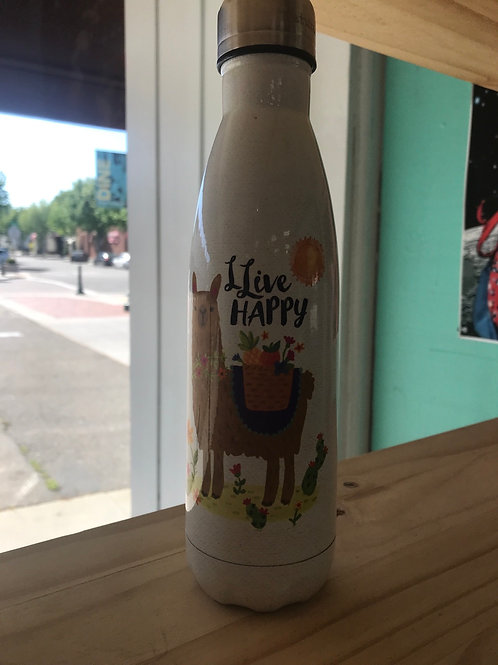 Natural Life llive happy water bottle