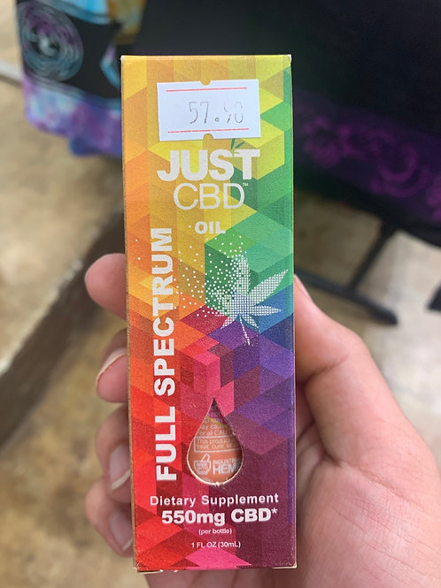 Just Oil 550mg