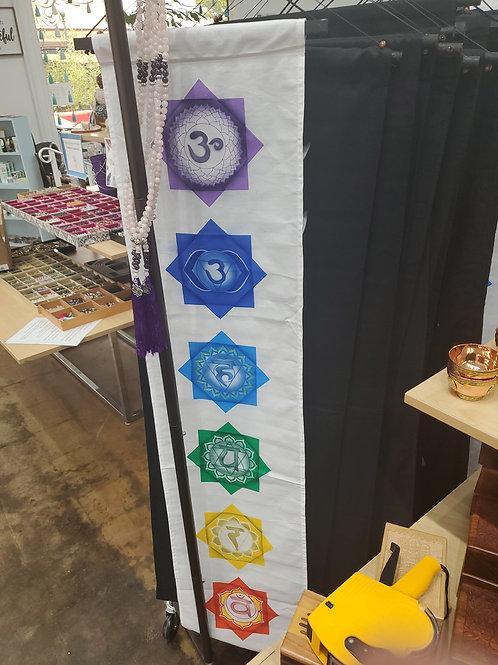 White Chakra Banner
