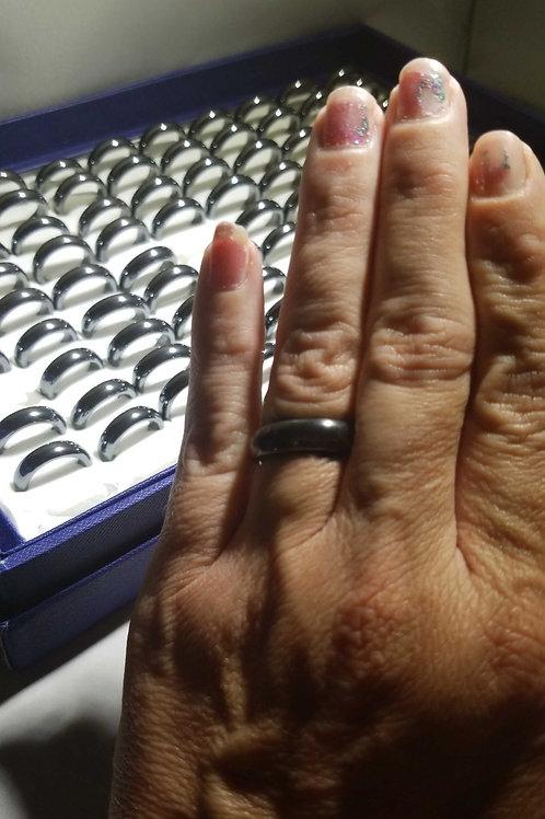 Hematite Rings