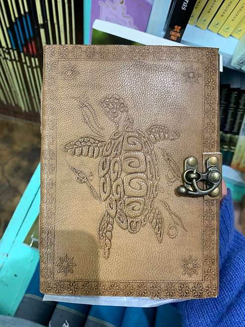 Turtle Leather Journal