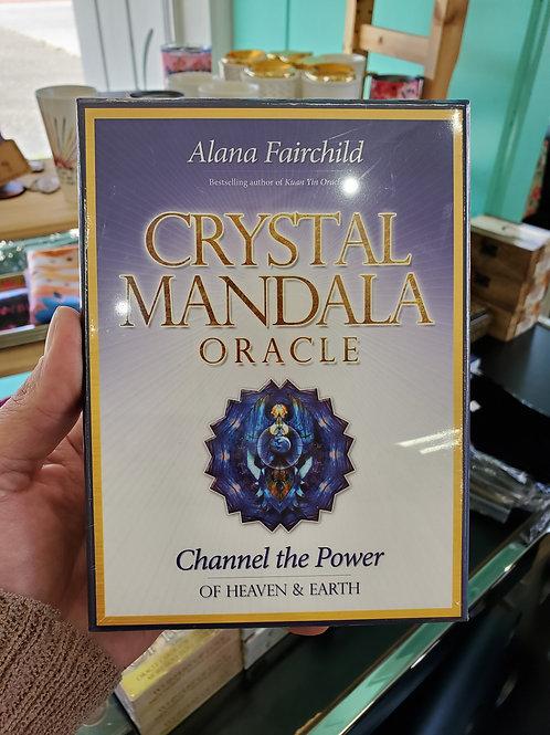 Crystal Mandala Oracle Cards