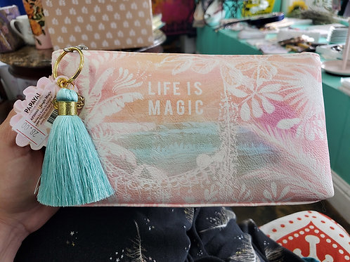Papaya Art Make Up Bag Life Is Magic