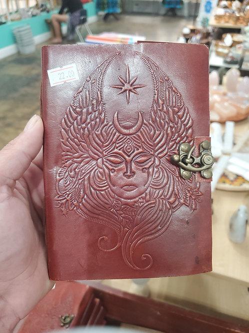 Goddess Leather Journal