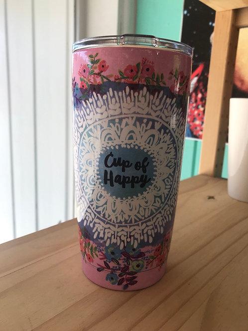 Natural Life Cup of Happy Travel mug lg